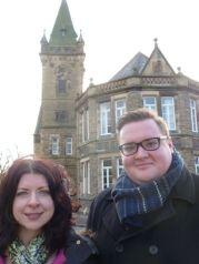 Ellie & Damien @ Library