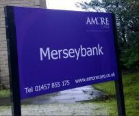 Merseybank Sign