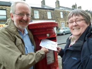 Postbox after.