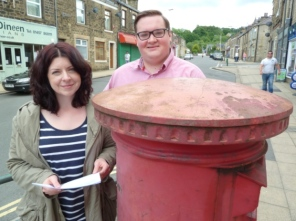 Postbox before